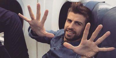 El defensa catalán es dueño de un gran actractivo físico. Tanto así, que conquistó a Shakira quien ya es madre de sus dos hijos. Foto:Vía instagram.com/3gerardpique
