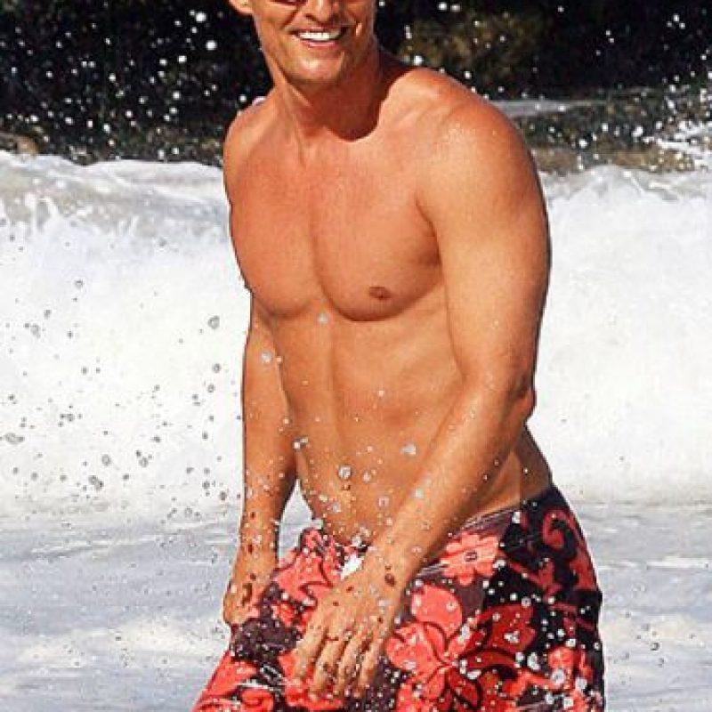 Matthew McConaughey también es otro que se ha dedicado al deporte. Foto:vía Getty Images