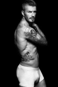 David Beckham es otro infaltable. Foto:vía H&M