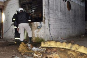 La vivienda sufrió varios daños. Foto:Vía Twitter @infopico