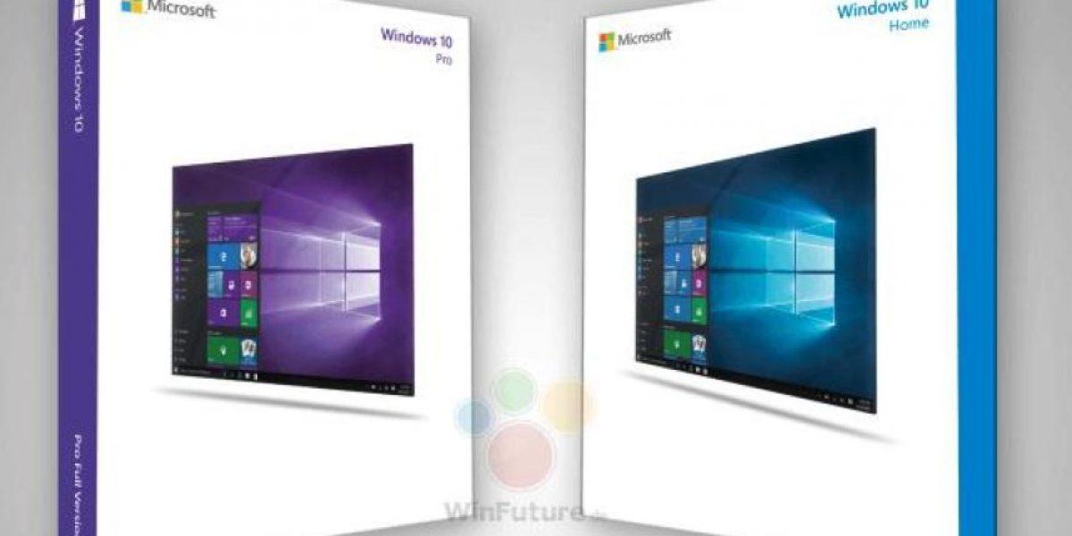 FOTOS: Estas son las cajas oficiales de Windows 10
