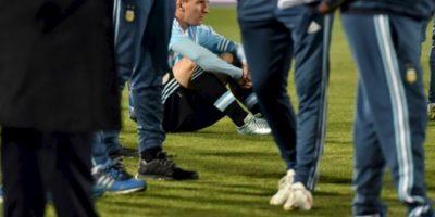 "Messi perdió la tercera final con la ""Albiceleste"" Foto:AFP"