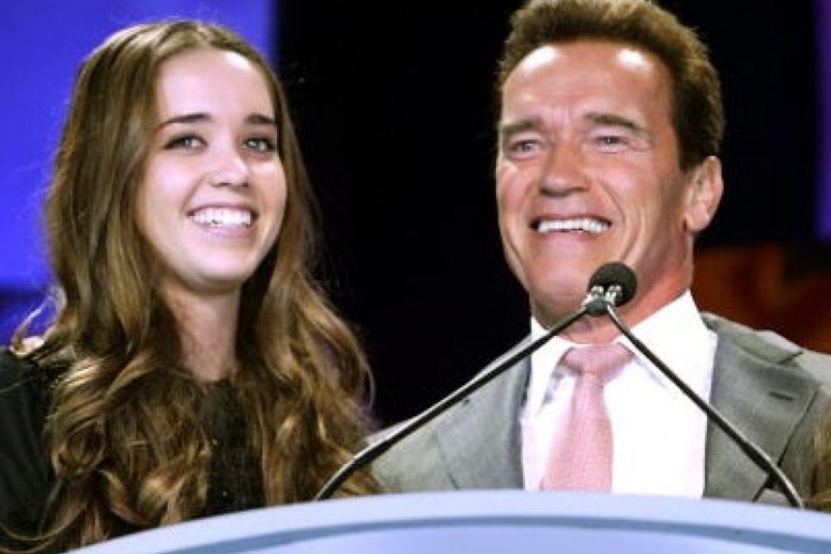 Katherine Schwarzenegger es la hija de Arnold Schwarzenegger. Foto:Getty Images