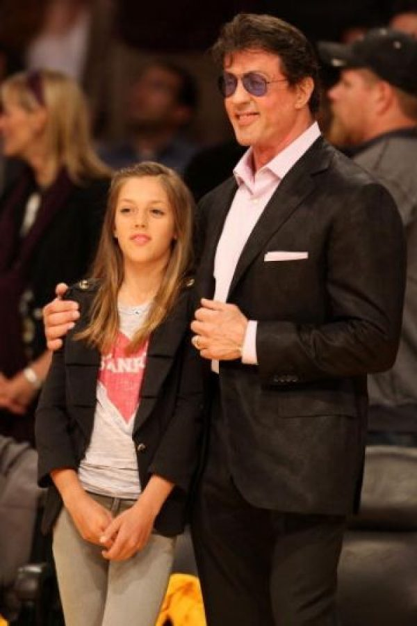 Sistine Stallone. Hija de Sylvester Stallone Foto:Getty Images