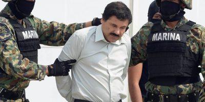 En 2001 escapó del penal de Puente Grande, a través de un carro de lavandería. Foto:vía AFP