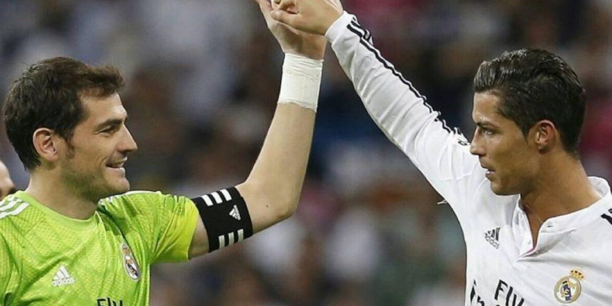 Cristiano Ronaldo desea buena suerte a Iker Casillas en las redes sociales
