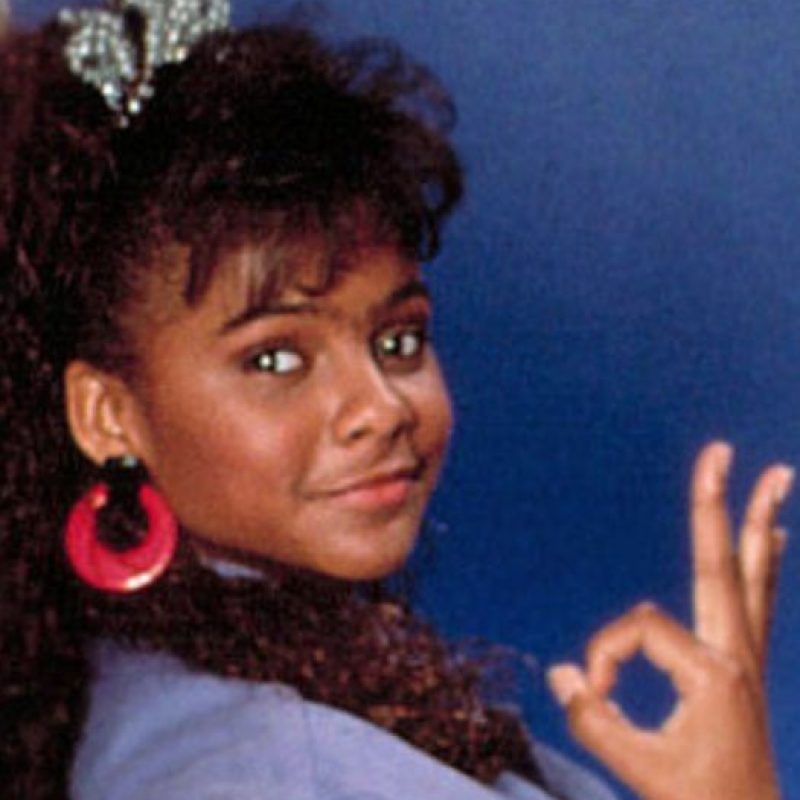 "Lark Voorhies era la fashionista ""Lisa Turtle"". Foto: vía NBC"