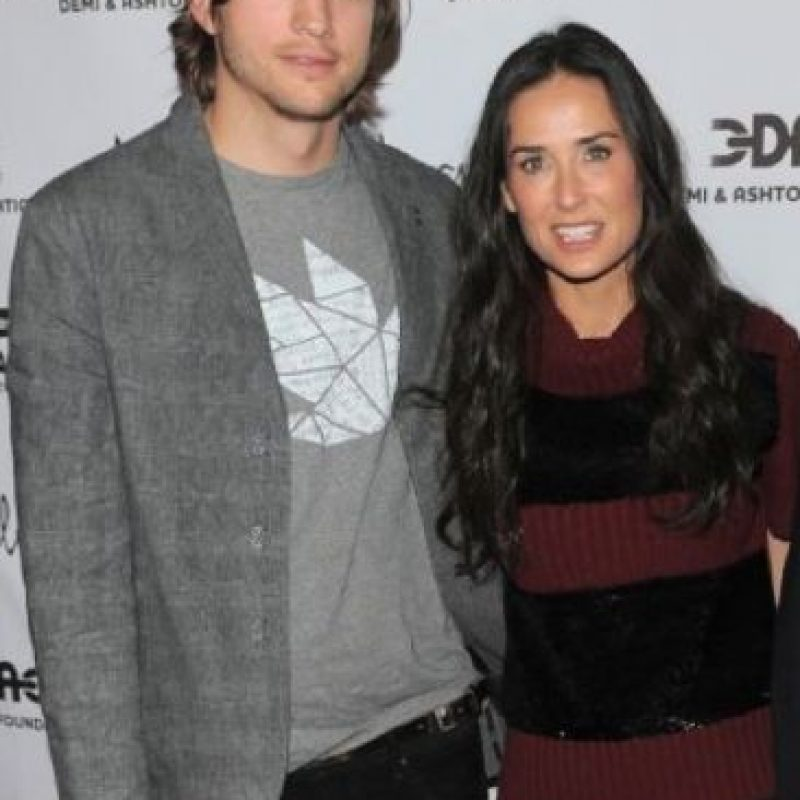 Estuvo casado con Demi Moore seis años. Foto:vía Getty Images