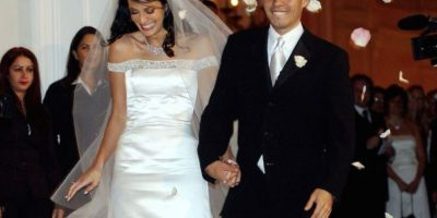 Luego de cinco años de matrimonio, en 2004, el cantante y la modelo puertorriqueña se divorciaron. Foto:vía Getty Images