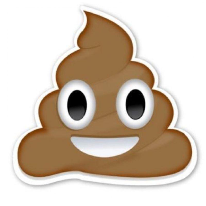 Caquita o popó: En realidad se trataría de un helado de chocolate. Foto:Emojipedia