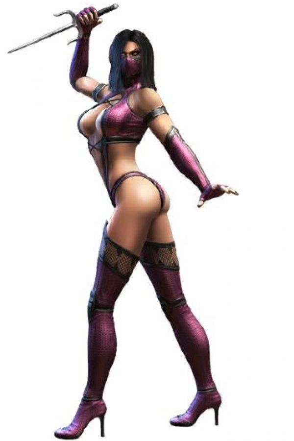 """""""Mileena"""" es un clon de """"Kitana"""" (también incluida en esta lista) creado con ayuda de la brujería en la historia de """"Mortal Kombat"""" Foto:Midway Games"""