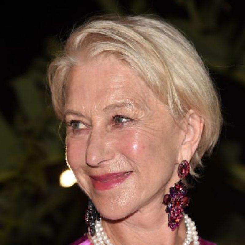 Helen Mirren tiene 69 años. Foto:vía Getty Images