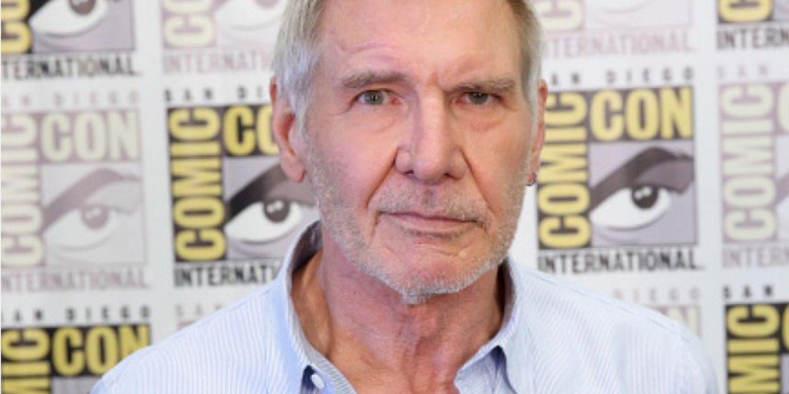 Harrison Ford tiene 73 años. Foto:vía Getty Images