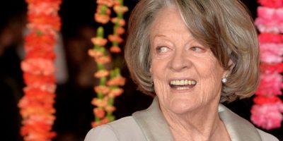 """Maggie Smith tiene 80 años y es conocida por """"Downtown Abbey"""" y por """"Harry Potter"""". Foto:vía Getty Images"""