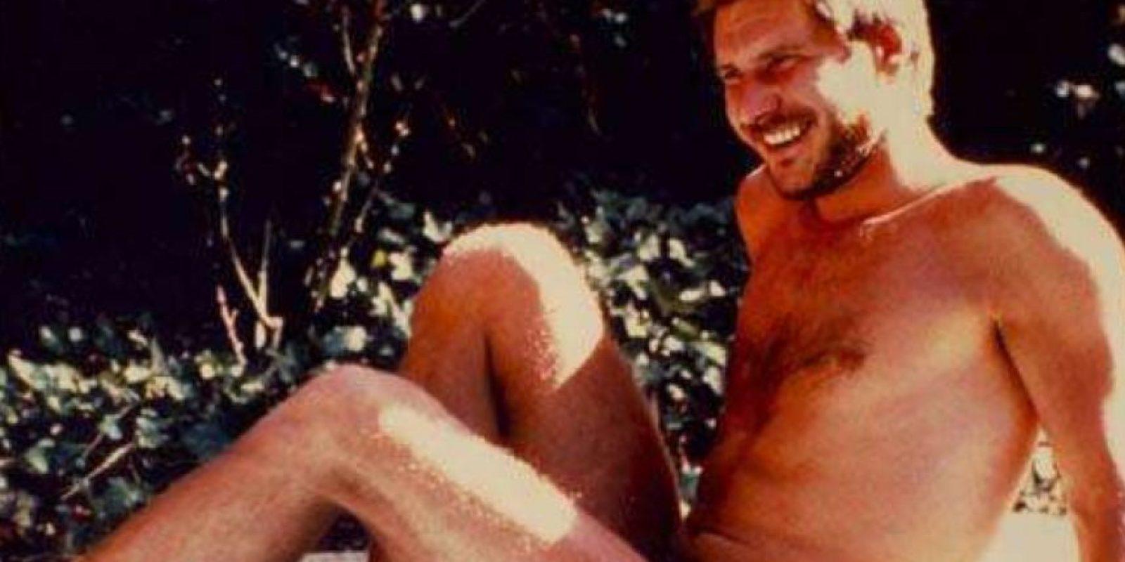 Comenzó como carpintero en el set, ya que no le iba bien al comienzo como actor. Foto:vía Getty Images
