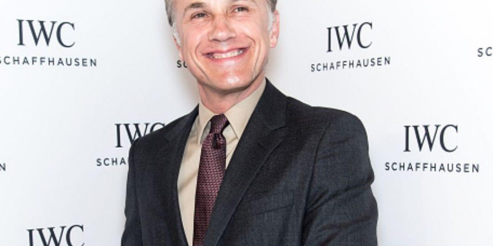 Christoph Waltz tiene 58 años. Se hizo famoso luego de sus 40 años. Foto:vía Getty Images