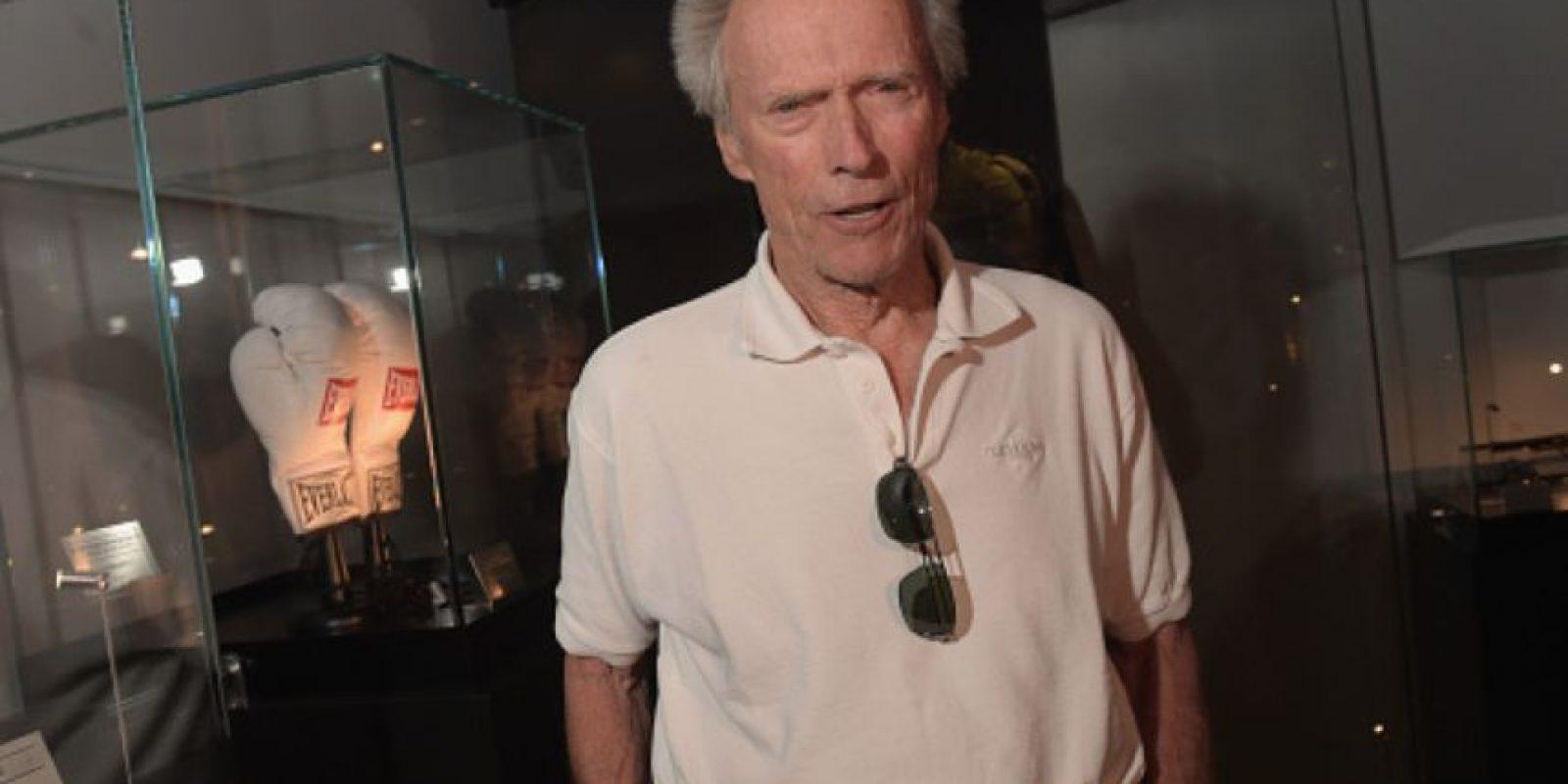 Clint Eastwood tiene 85 años. Foto:vía Getty Images