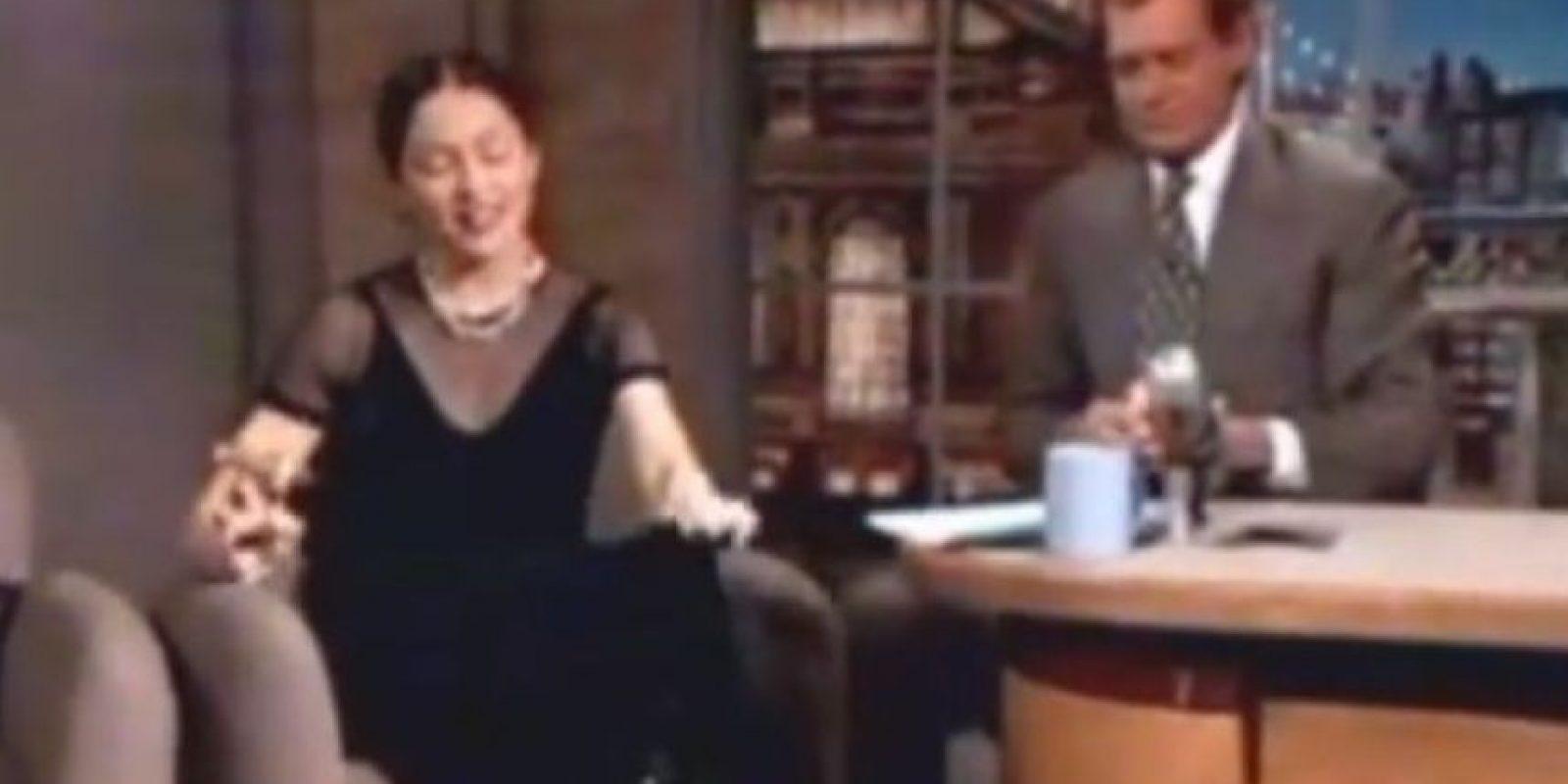 En los años 90 fumó un porro en el show de David Letterman. Foto:vía Getty Images