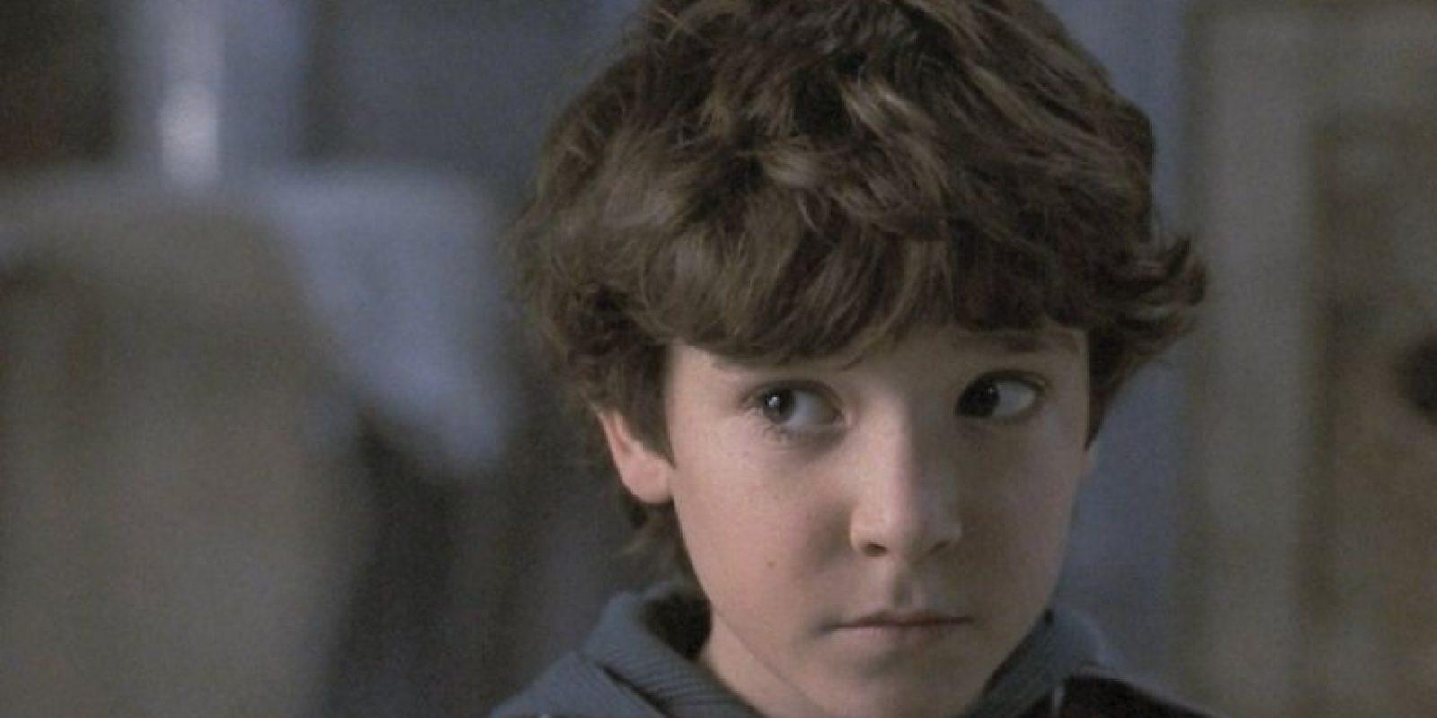 """""""Peter"""" era interpretado por Bradley Pierce. Foto:vía TriStar"""