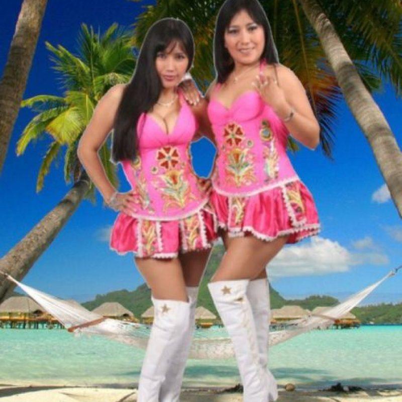 """""""Las chicas terremoto"""" son famosas por """"Que viva el amor"""". Foto:vía FNN"""