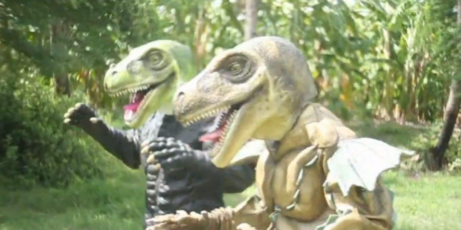 Y de los velociraptors. Foto:vía ghtai porn