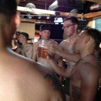 Donny O' Malley fue el capitán veterano que organizó el evento en San Diego. Foto:vía Facebook/ 22 with 22, for the 22 in silkies