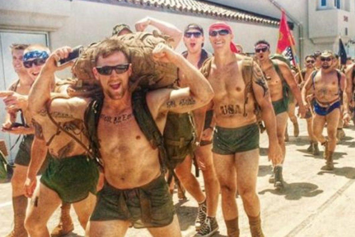 Lo hacen para honrar a los militares que dejan el conflicto y se suicidan por falta de asistencia psicológica. Foto:vía Facebook/ 22 with 22, for the 22 in silkies