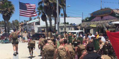 En Estados Unidos se suicidan 22 exmilitares al día. Foto:vía Facebook/ 22 with 22, for the 22 in silkies