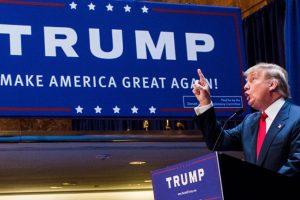 Cuando Megyn Kelly le preguntó a Donald Trump sobre su trato irrespetuoso hacia las mujeres, él solo dijo que había hecho eso con Rosie O' Donnell. Foto:vía Getty Images
