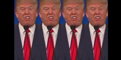 Definitivamente, Donald Trump se robó el show. Foto:vía Twitter