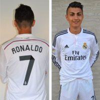 Por supuesto, Shanta es fanático del Real Madrid. Foto:Vía instagram.com/shantaronaldo