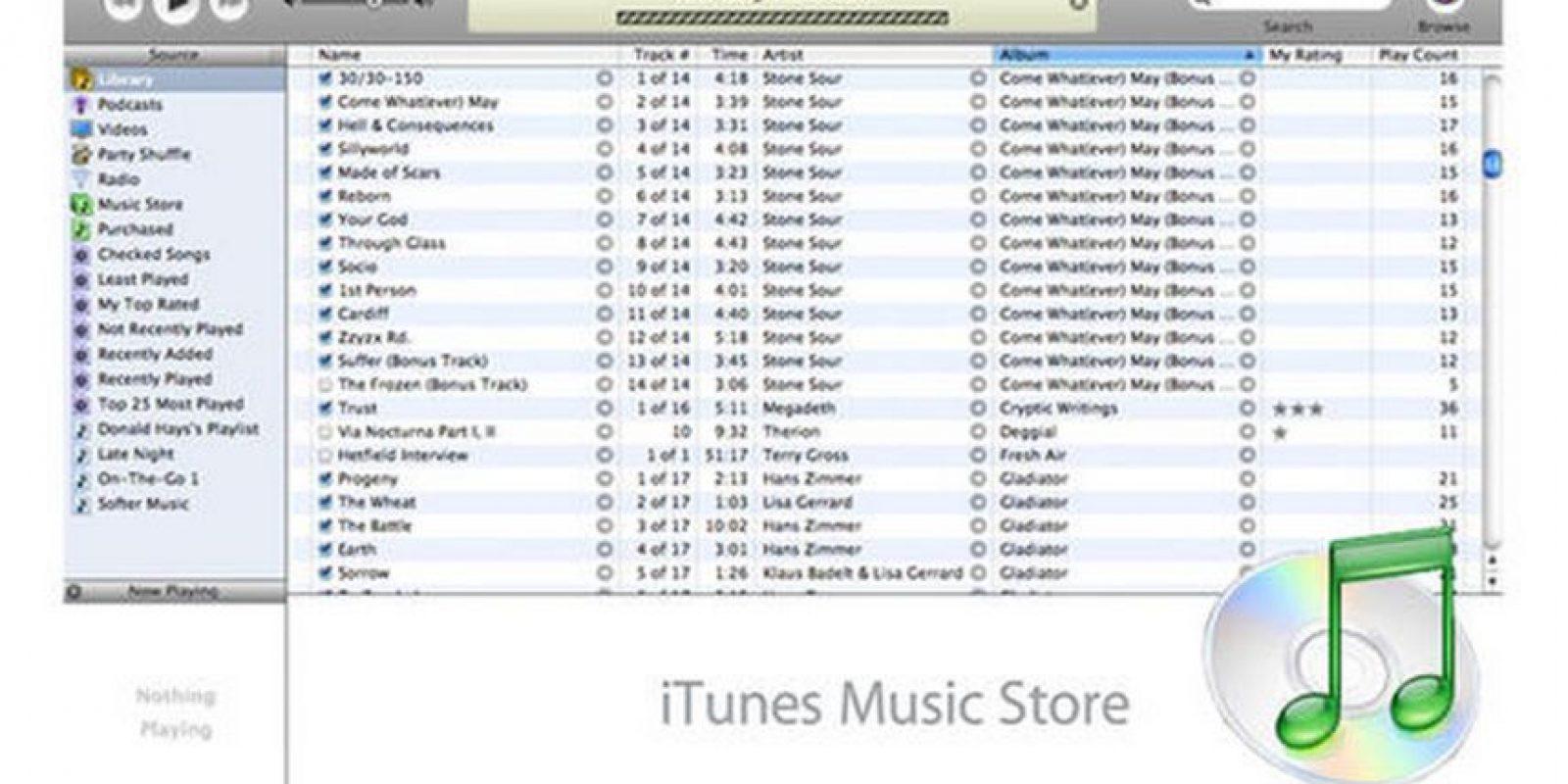 iTunes 6.0 Foto:Apple