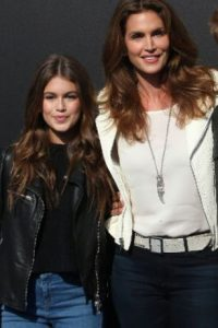 Cindy Crawford y Kaia Gerber. Foto: vía Getty Images