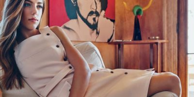 Afirma que la siguen por su padre. Foto:vía Teen Vogue