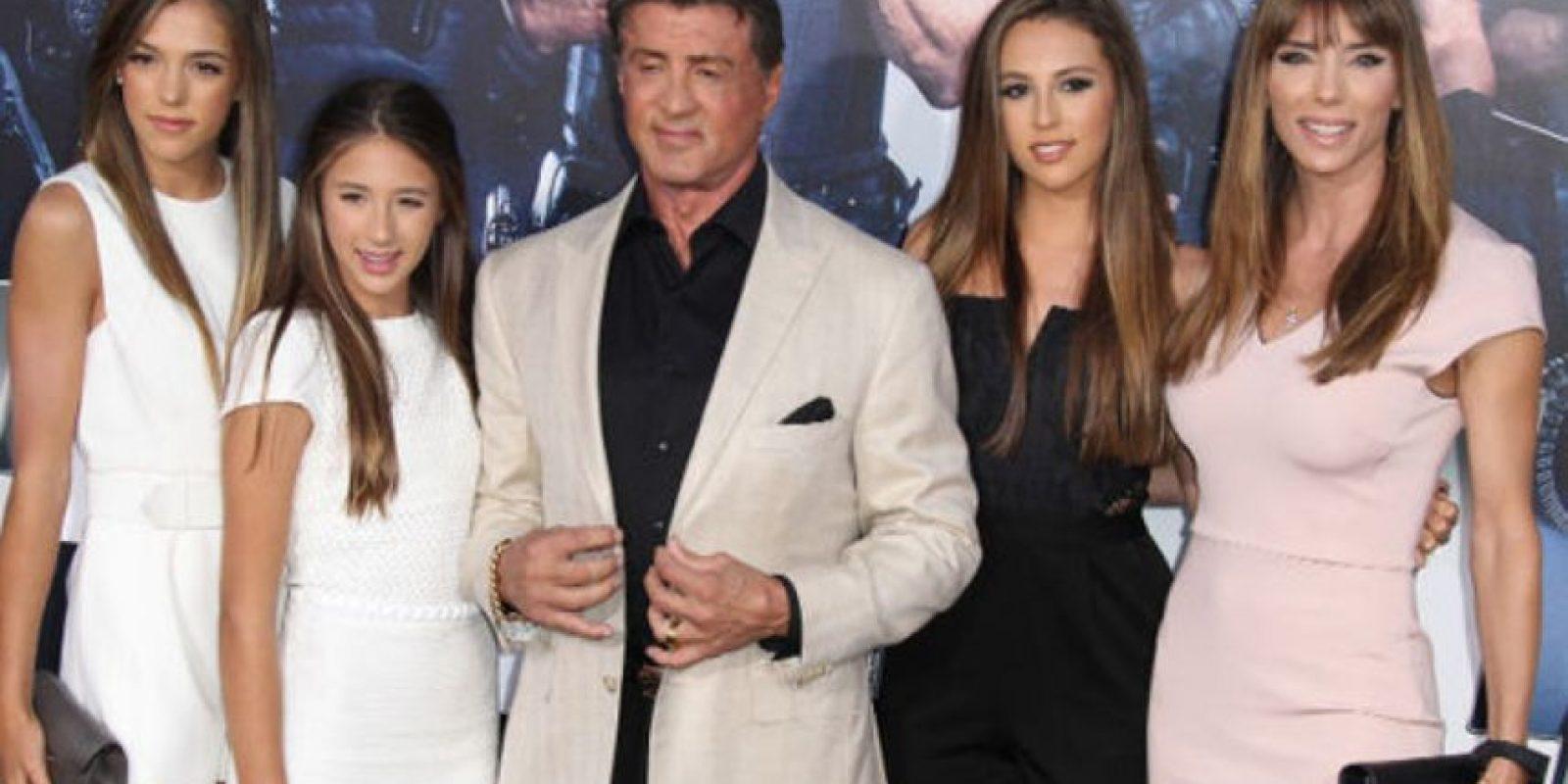 Sistine Rose es hija de Sylvester Stallone y Jennifer Flavin. Foto:vía Getty Images