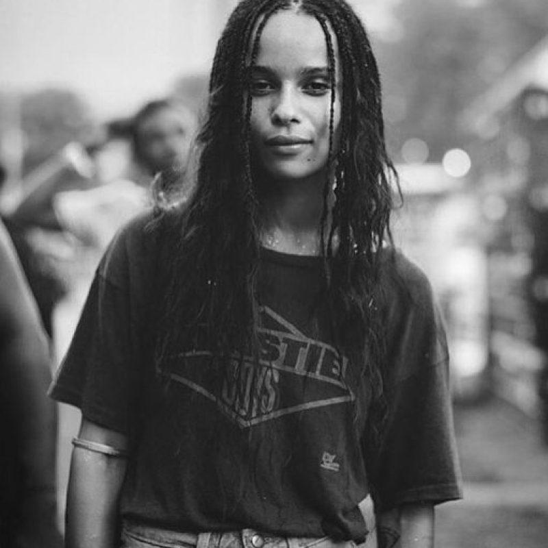 Zoë Kravitz es hija de Lisa Bonet y Lenny Kravitz. Foto:vía Instagram/zoekravitz