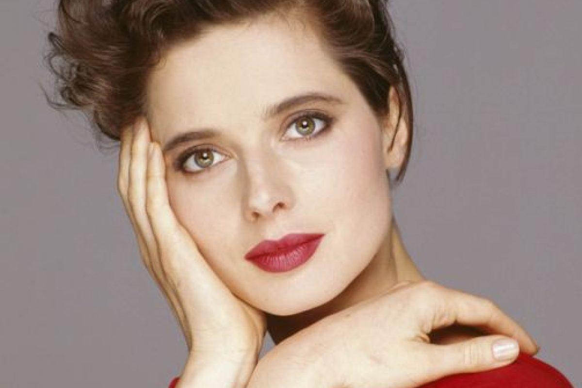 Su madre fue imagen de Lancome por muchos años. Foto:vía Getty Images