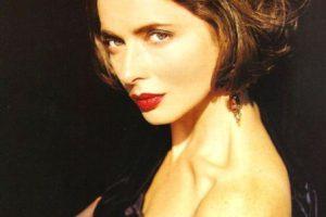 Isabella debutó en Vogue, al ser hija de la legendaria Ingrid Bergman. Foto:vía Getty Images