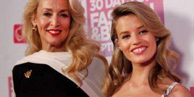 Georgia también debutó con grandes firmas de moda. Foto:vía Getty Images