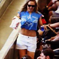 Entre otras actividades, Ronda acudió a un partido de fútbol en el Maracaná el fin de semana pasado. Foto:Vía instagram.com/rondarousey
