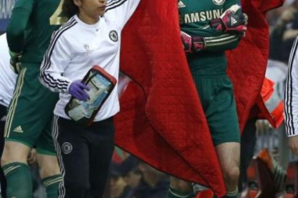 Estuvo al lado del equipo de atletismo inglés en los Juegos Olímpicos de Beijing 2008 Foto:Vía facebook.com/eva.carneiro