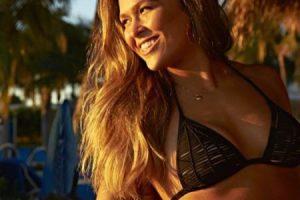 En este evento enfrentó a la brasileña Bethe Correia. Foto:Vía instagram.com/rondarousey