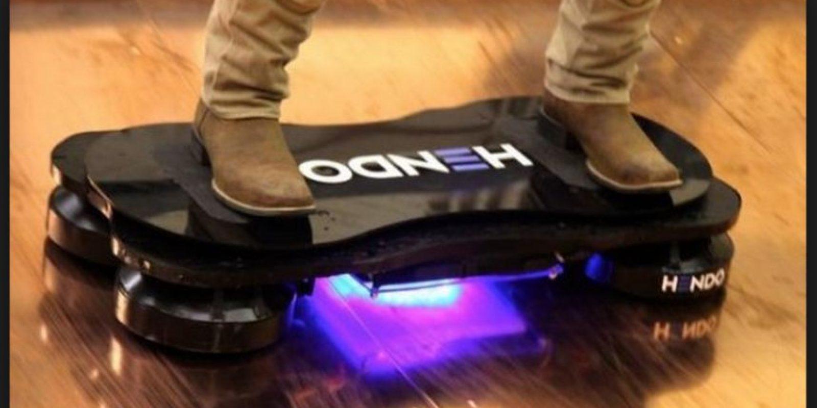 Actualmente ha desarrollado un deslizador que funciona con magnetismo Foto:Hendo