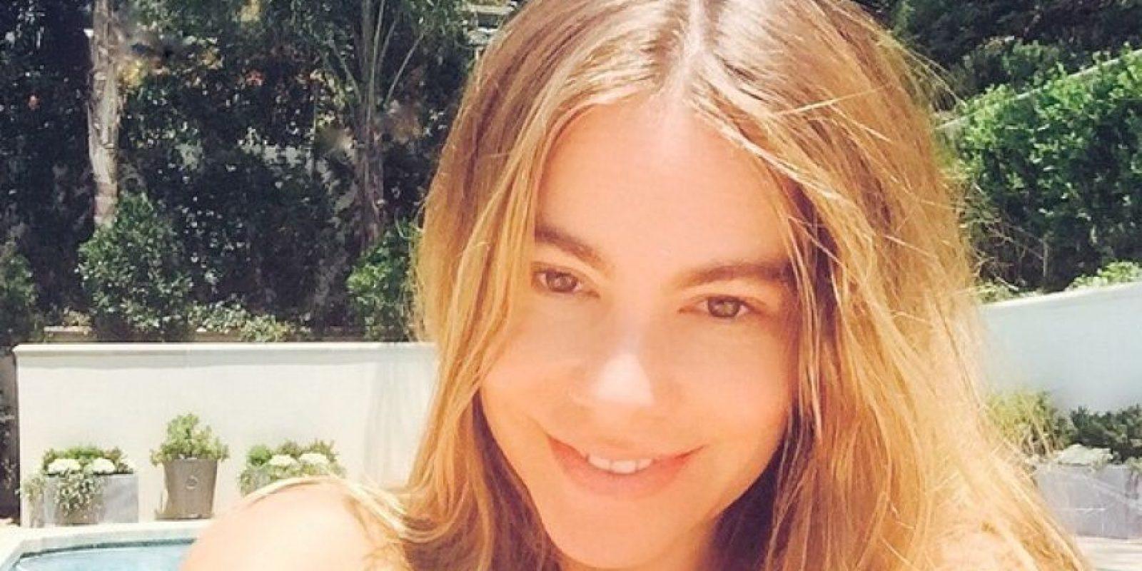 """La actriz y modelo colombiana ya había hecho público su gusto por """"CR7"""" Foto:Vía instagram.com/sofiavergara"""