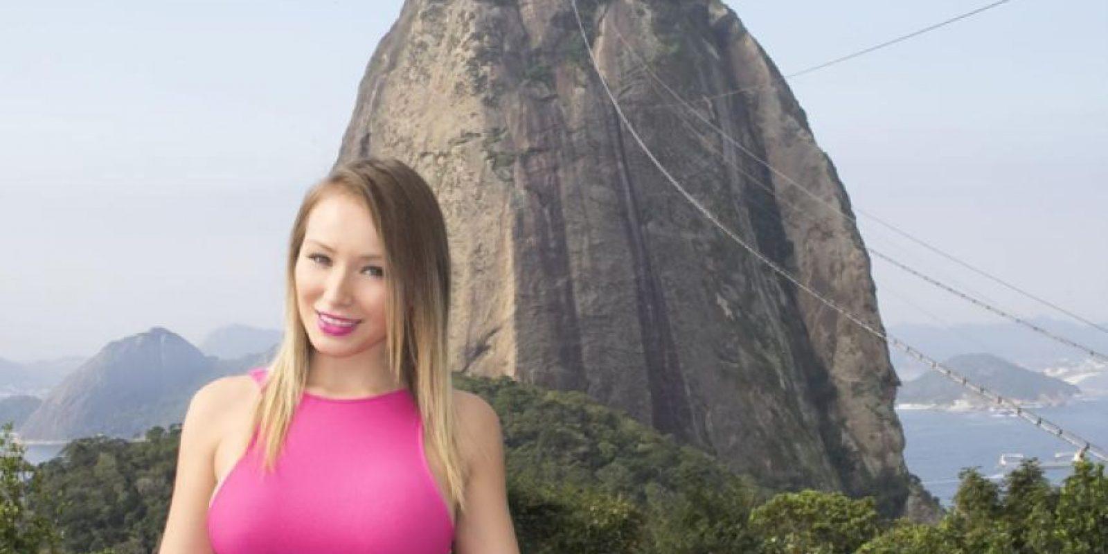 """La """"Novia de la Copa América 2015"""" aseguró que fue amante de Cristiano Foto:Vía instagram.com/daniellachavezc"""