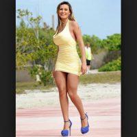 Ella es una ex Miss Bumbum de Brasil Foto:Vía instagram.com/andressaurachoficial