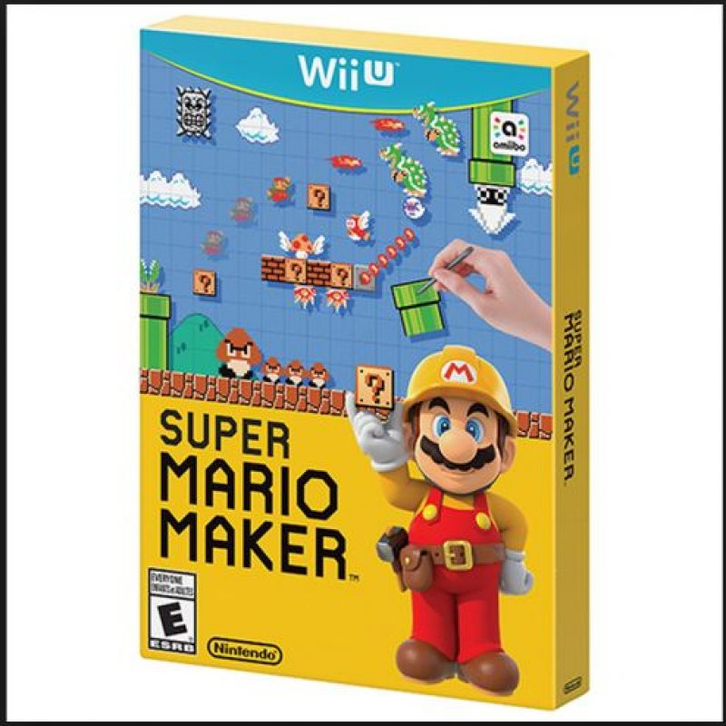 """Mejor juego de Wii U y Mejor juego social / casual / online: """"Mario Maker"""": Foto:Nintendo"""