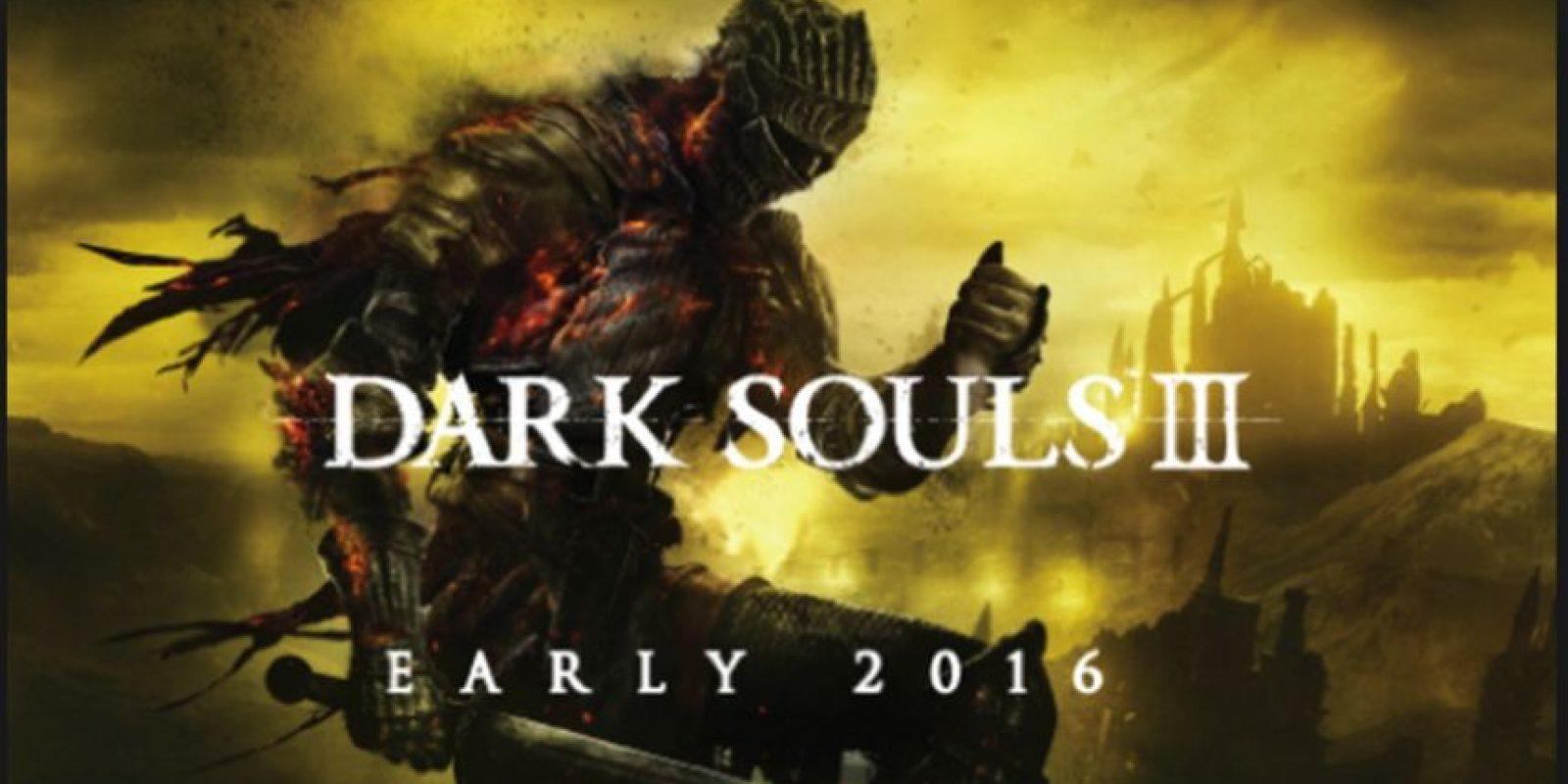 """Mejor juego de rol: """"Dark Souls 3"""" Foto:From Software"""