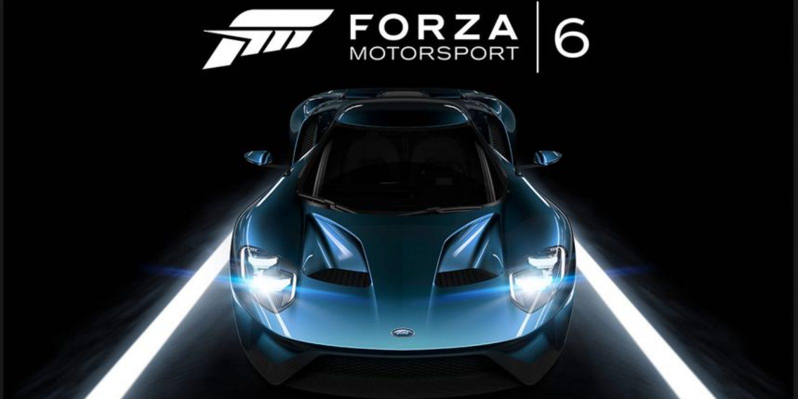 """Mejor juego de conducción y Mejor juego de simulación: """"Forza Motorsport 6"""" Foto:Turn 10 Studios"""