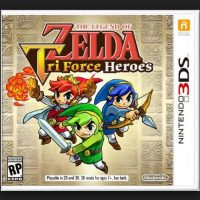 "Mejor juego de móvil: ""The Legend of Zelda: Tri Force Heroes"" Foto:Nintendo"